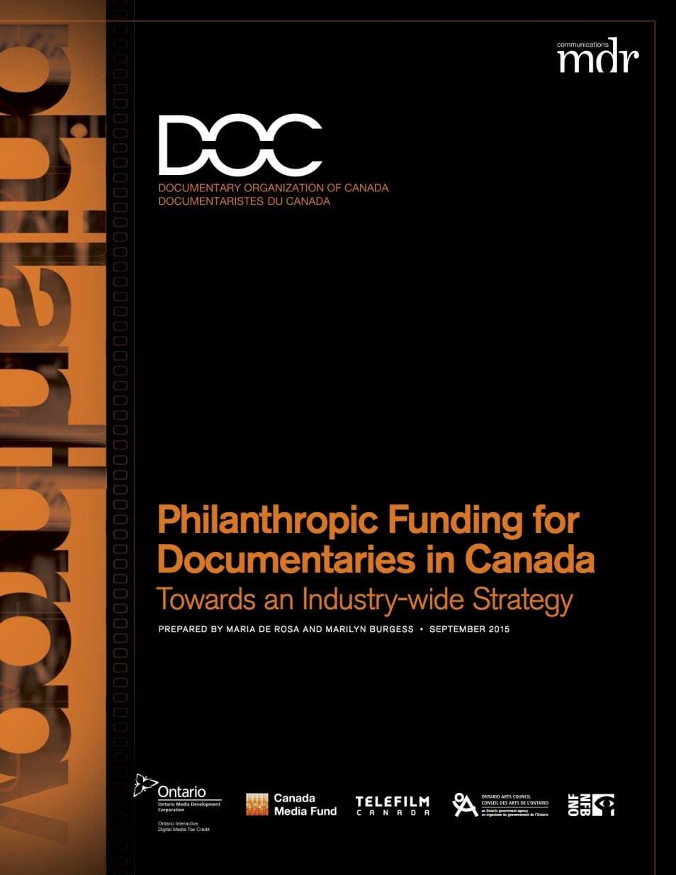 philanthropic-funding-documentaries-canada
